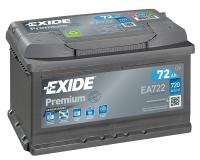 Exide Premium Autobatterie 72Ah 12V
