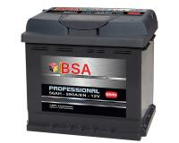 Autobatterie BSA Professional 56Ah