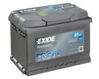 Exide Premium Autobatterie 61Ah 12V