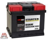 Langzeit 54Ah 12V Autobatterie