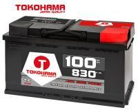Tokohama T5 Autobatterie 100Ah 830A