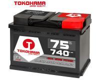 Tokohama T3 Autobatterie 75Ah 57546