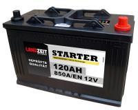Langzeit LKW Batterie 120Ah Starterbatterie