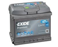Exide Premium Carbon Boost Autobatterie 47Ah / 12V / 450A