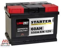LANGZEIT Autobatterie  60Ah / 12V