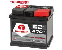 Tokohama Autobatterie 52Ah 12V