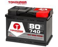 Tokohama Autobatterie 80Ah 12V 740A/EN