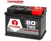Tokohama Autobatterie 80Ah / 780A/EN / 12V