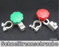 Batterieklemmen Pol Trenner verzinkt