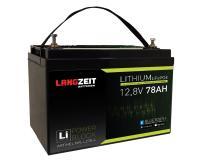 Langzeit Lithium Batterie 78Ah / 12V