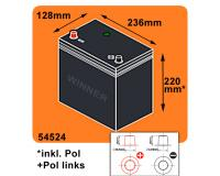 Autobatterie ASIA 47Ah 12V PPL