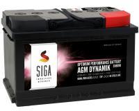 SIGA AGM Dynamik Autobatterie 80Ah