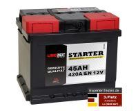 LANGZEIT Starter Autobatterie 45Ah 12V
