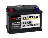 Langzeit US Autobatterie PPL 77Ah 12V