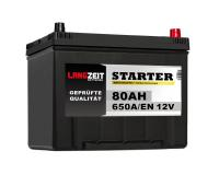 Langzeit Autobatterie ASIA 80Ah 12V PPR