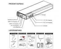 Loadchamp LC20-ES Starthilfe Jumpstarter
