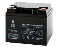Phaeton AGM Batterie 50Ah 12V Blei Akku