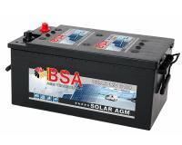BSA AGM VRLA Wohnmobil-Batterie 180 Ah