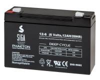 AGM 12Ah 6V Akku Blei Batterie
