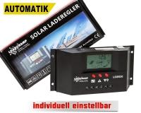Automatik Solar Laderegler 30A