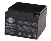 APOLLO AGM 25Ah VDS 12V Versorgungsbatterie