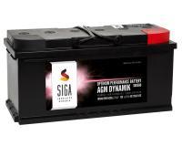 SIGA AGM Dynamik Autobatterie 105Ah