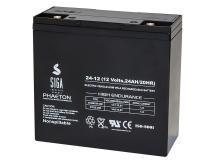 Phaeton AGM Batterie 24Ah 12V Blei Akku