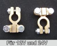 Batterieklemmen Polklemmen 12V 24V