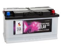 SIGA SOLAR Trocken 100Ah 12V Solarbatterie