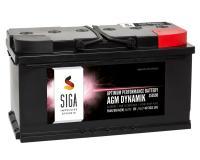 SIGA AGM Dynamik Autobatterie 95Ah