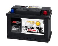 SOLAR SMF 100Ah Solarbatterie Langzeit