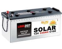 Langzeit Solar 220Ah Versorgungsbatterie