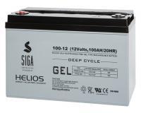 Helios GEL 100Ah Versorgungsbatterie
