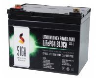 Lithium Batterie 33Ah 12,8V LiFePO4