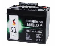 Lithium Batterie 75Ah 12,8V LiFePO4