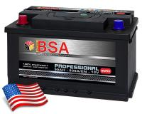 BSA Professional Autobatterie 90Ah +Pol links