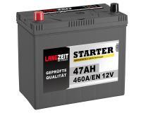 Langzeit Autobatterie ASIA 47Ah 12V PPL