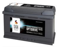 SIGA OptiDrive 80Ah 12V Autobatterie