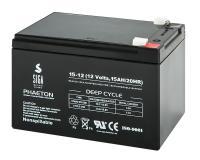 AGM 15Ah 12V Blei Batterie Akku