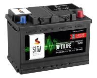 SIGA OptiLife 12V 75Ah Autobatterie 4 Jahre Garantie
