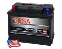 BSA Professional Autobatterie 62Ah +Pol links
