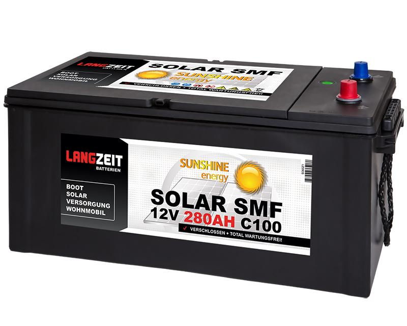 SOLAR SMF 280Ah Solarbatterie Langzeit