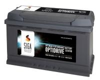 SIGA OptiDrive 74Ah 12V Autobatterie