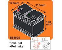 SIGA US Autobatterie PPL 90Ah 830A/EN 12V