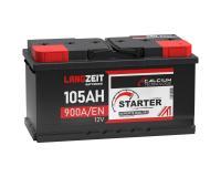 LANGZEIT Autobatterie 105AH / 12V
