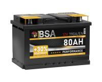 BSA Autobatterie  80Ah / 12V