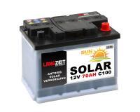 Langzeit SOLAR 70Ah Semi-Traktionsbatterie