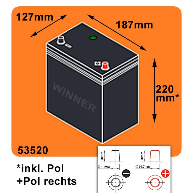 autobatterie asia 38ah 12v ersetzt 35ah. Black Bedroom Furniture Sets. Home Design Ideas